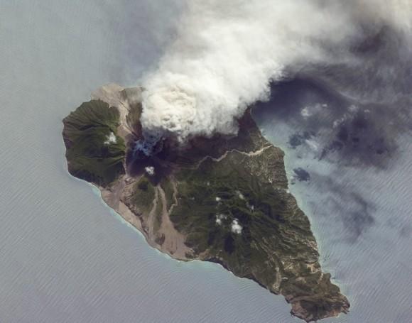 Aerial view Montserrat