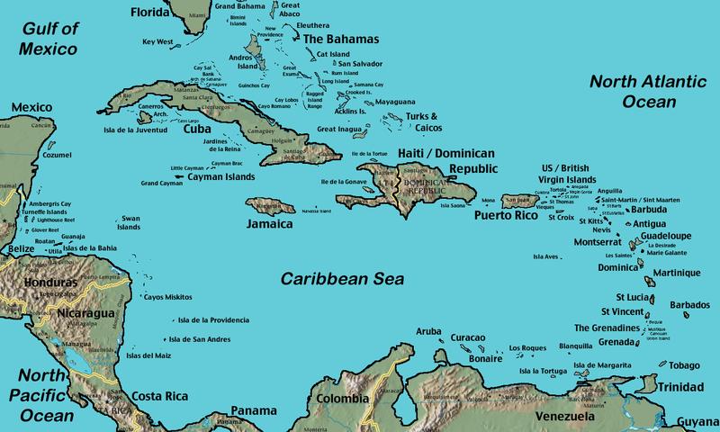 Montserrat map (Wikimedia)