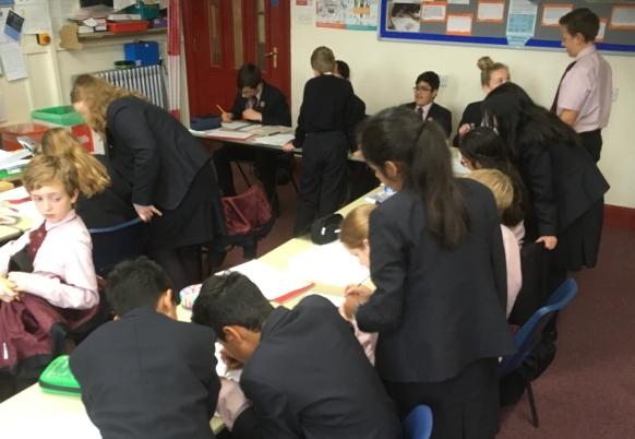 Peer teaching Cross-sections