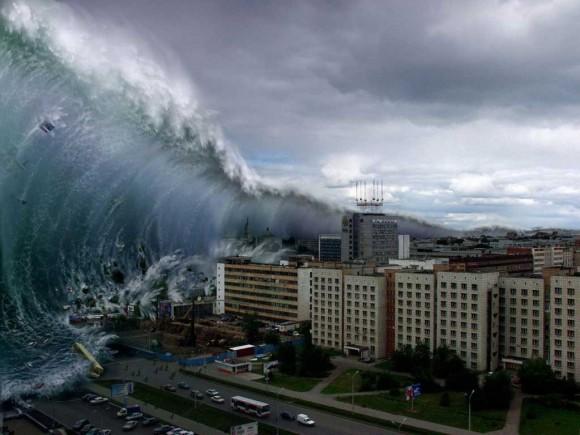 fake tsunami