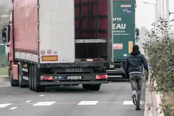 migrant lorry original
